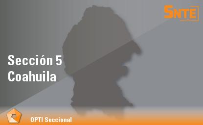 Sección 5. Coahuila