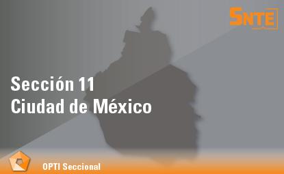 Sección 11. Ciudad de México