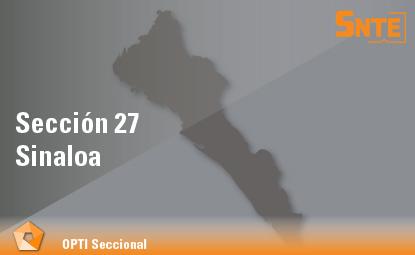 Sección 27. Sinaloa