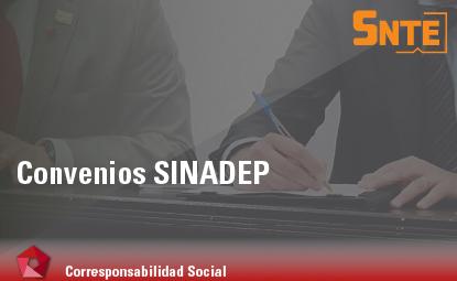 Convenios SINADEP