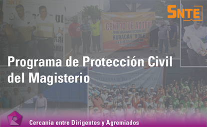 Programa de Protección Civil del Magisterio