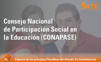 Consejo Nacional de Participación Social en la Educación (CONAPASE)