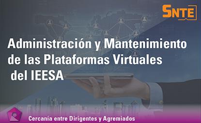 Administración y Mantenimiento de las Plataformas Virtuales del IEESA