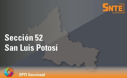 Sección 52. San Luis Potosí