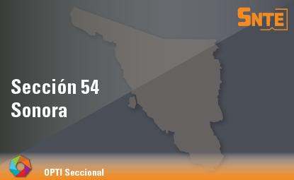 Sección 54. Sonora