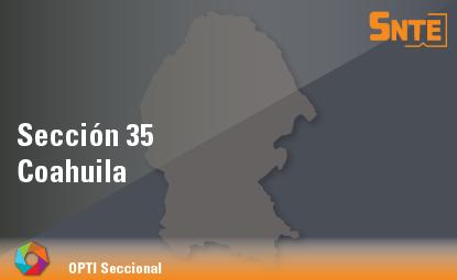 Sección 35. Coahuila