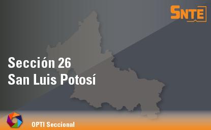 Sección 26. San Luis Potosí