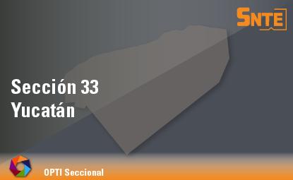 Sección 33. Yucatán