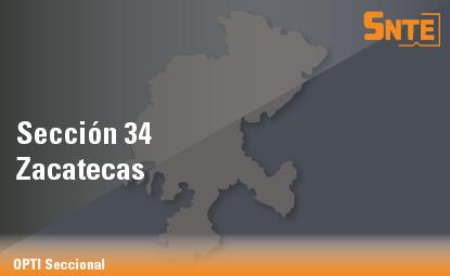 Sección 34. Zacatecas