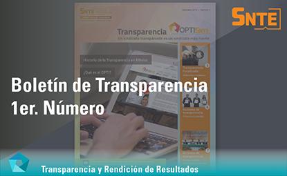 Boletín de Transparencia