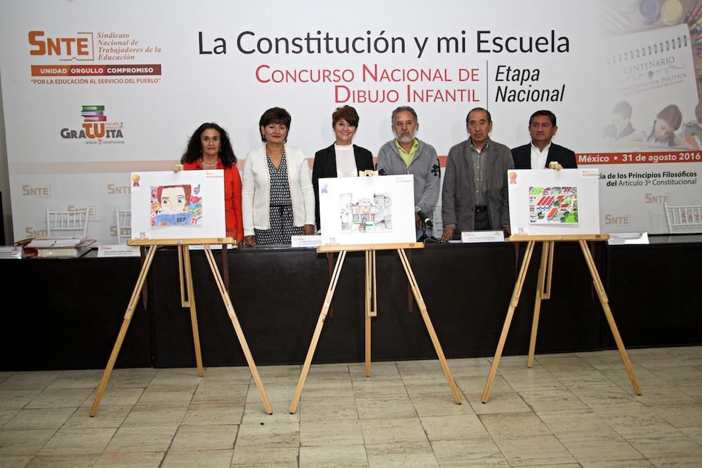 Concurso Nacional de Dibujo Infantil La Constitucin y mi Escuela