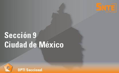 Sección 9. Ciudad de México