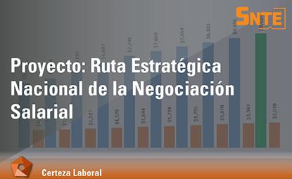 Ruta Estratégica Nacional de la Negociación Salarial