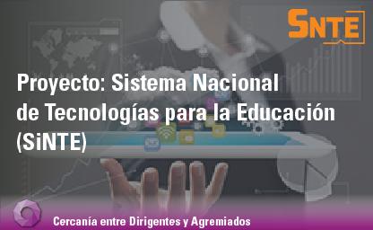 Sistema Nacional de Tecnologías para la Educación (SiNTE)