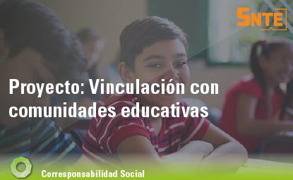 Vinculación con comunidades educativas