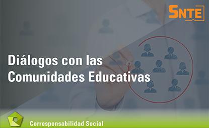 Diálogos con las comunidades educativas