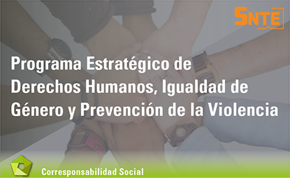 Programa Estratégico de Derechos Humanos, Igualdad de Género y Prevención de Violencia