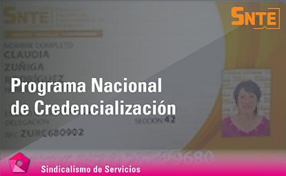 Programa Nacional de Credencialización