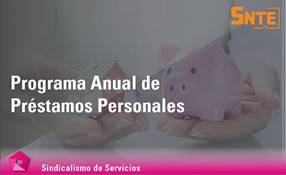 Programa Anual de Préstamos Personales