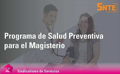 Programa de Salud Preventiva para el Magisterio