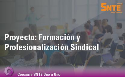 Formación y Profesionalización Sindical