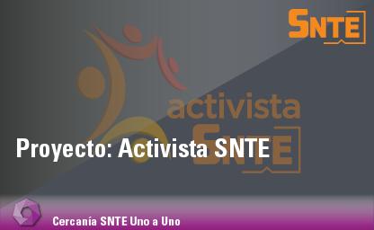 Activista SNTE