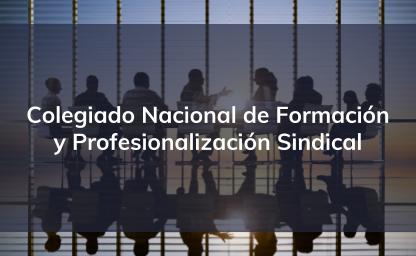 Colegiado Nacional de Formación y Profesionalización Sindical