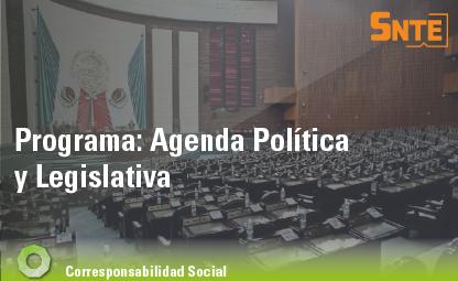 Agenda Política y Legislativa