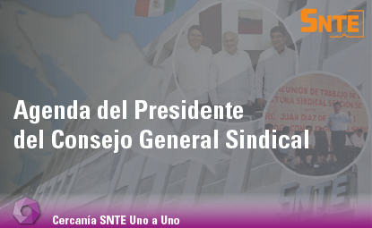 Agenda del Presidente del Consejo General Sindical