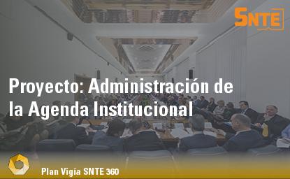 Administración de la Agenda Institucional