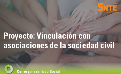 Vinculación con asociaciones de la sociedad civil