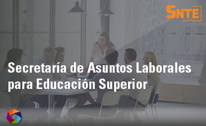 Secretaría de Asuntos Laborales para Educación Superior
