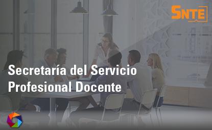 Secretaría del Servicio Profesional Docente