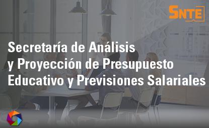 Secretaría de Análisis y Proyección de Presupuesto Educativo y Previsiones Salariales