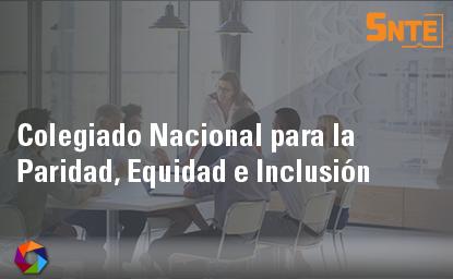Colegiado Nacional para la Paridad, Equidad, e Inclusión