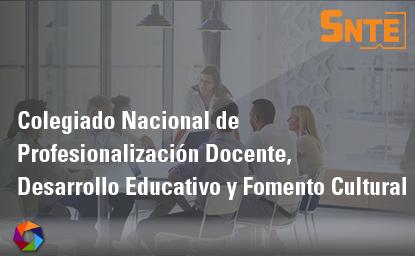 Colegiado Nacional de Profesionalización Docente, Desarrollo Educativo y Fomento Cultural