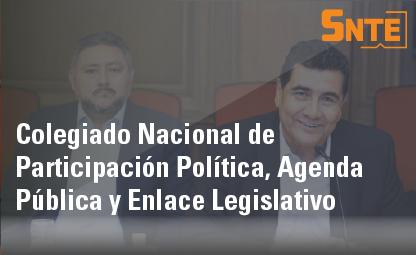 Colegiado Nacional de Participación Política, Agenda Pública y Enlace Administrativo
