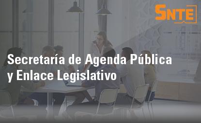 Secretaría de Agenda Pública y Enlace Legislativo