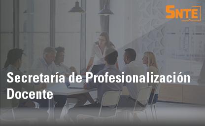 Secretaría de Profesionalización Docente